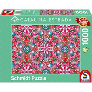 "Schmidt Spiele (59586) - Catalina Estrada: ""Red Rosebush"" - 1000 piezas"