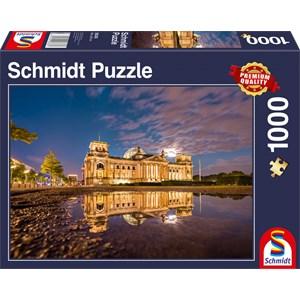 "Schmidt Spiele (58336EAN) - ""Parliament, Berlin"" - 1000 piezas"