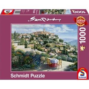 """Schmidt Spiele (59483) - Sam Park: """"St. Paul De Vence"""" - 1000 piezas"""