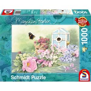 """Schmidt Spiele (59570) - Marjolein Bastin: """"Summer Home"""" - 1000 piezas"""