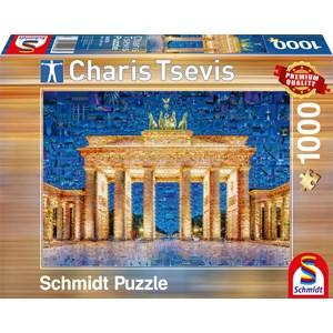 "Schmidt Spiele (59578) - Charis Tsevis: ""Berlin"" - 1000 piezas"