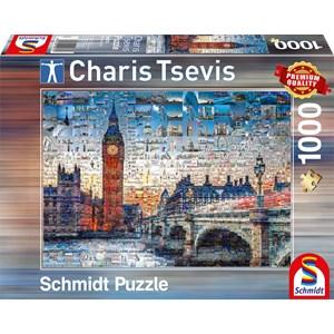 "Schmidt Spiele (59579) - Charis Tsevis: ""London"" - 1000 piezas"