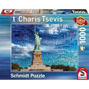 "Schmidt Spiele (59581) - Charis Tsevis: ""New York"" - 1000 piezas"
