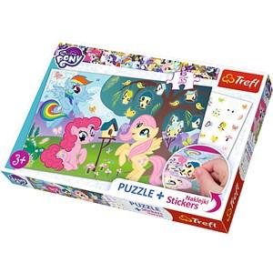 """Trefl (75116) - """"My Lttle Pony"""" - 35 piezas"""