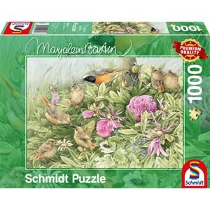 """Schmidt Spiele (59571) - Marjolein Bastin: """"Feast in the Meadow"""" - 1000 piezas"""