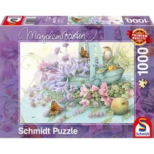 """Schmidt Spiele (59572) - Marjolein Bastin: """"Flower Basket"""" - 1000 piezas"""