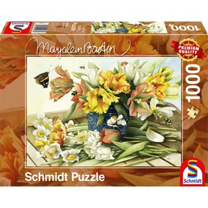 """Schmidt Spiele (59573) - Marjolein Bastin: """"Spring Blossoms"""" - 1000 piezas"""