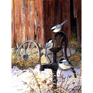 """SunsOut (71229) - Terry Doughty: """"At the Pump"""" - 500 piezas"""
