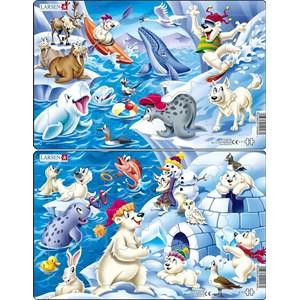 """Larsen (U17) - """"Animals in the Arctic"""" - 17 piezas"""