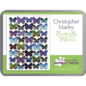 """Pomegranate (AA798) - Christopher Marley: """"Butterfly Mosaic"""" - 100 piezas"""