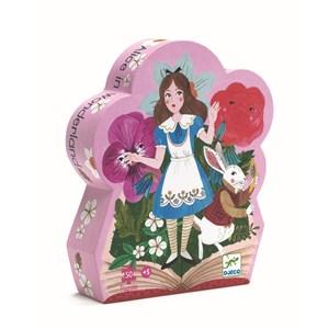 """Djeco (07260) - """"Alice in Wonderland"""" - 50 piezas"""