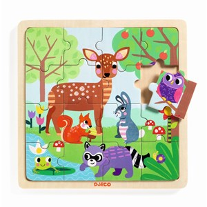 "Djeco (01812) - ""Forest"" - 16 piezas"