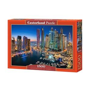 "Castorland (C-151813) - ""Skyscrapers of Dubai"" - 1500 piezas"