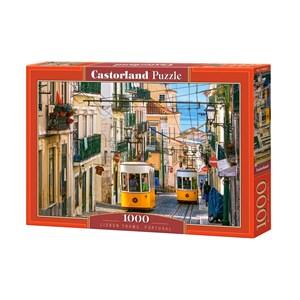 "Castorland (C-104260) - ""Lisbon Trams, Portugal"" - 1000 piezas"