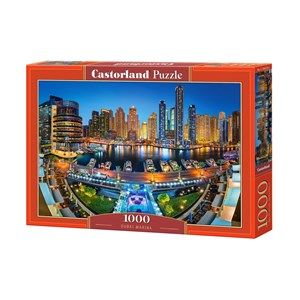 "Castorland (C-104222) - ""Dubai Marina"" - 1000 piezas"