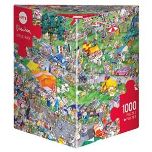 "Heye (29888) - Roger Blachon: ""Cycle Race"" - 1000 piezas"