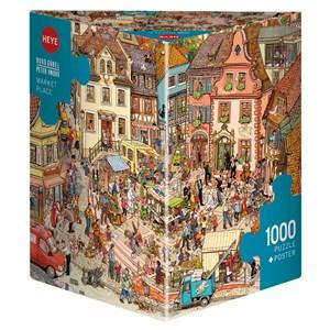 "Heye (29884) - Doro Göbel: ""Market Place"" - 1000 piezas"