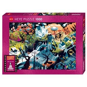 """Heye (29882) - Alexandre Clerisse: """"Tim Burton Films"""" - 1000 piezas"""