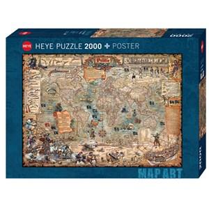 """Heye (29847) - Rajko Zigic: """"Pirate World"""" - 2000 piezas"""