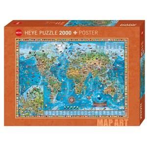 """Heye (29846) - Rajko Zigic: """"Amazing World"""" - 2000 piezas"""
