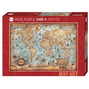"""Heye (29845) - Rajko Zigic: """"The World"""" - 2000 piezas"""