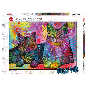 "Heye (29864) - Dean Russo: ""Devoted 2 Cats"" - 1000 piezas"