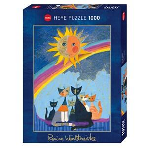 """Heye (29854) - Rosina Wachtmeister: """"Gold Rain"""" - 1000 piezas"""