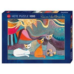 """Heye (29853) - Rosina Wachtmeister: """"Yellow Ribbon"""" - 1000 piezas"""