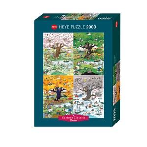 "Heye (29873) - Roger Blachon: ""4 Seasons"" - 2000 piezas"