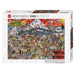 """Heye (29848) - Alex Bennett: """"British Music History"""" - 2000 piezas"""