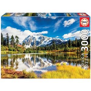 """Educa (18011) - """"Mount Shuksan, Washington, USA"""" - 3000 piezas"""