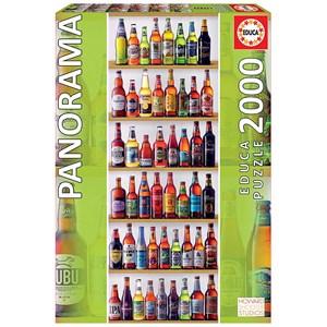 "Educa (18010) - ""World Beers"" - 2000 piezas"