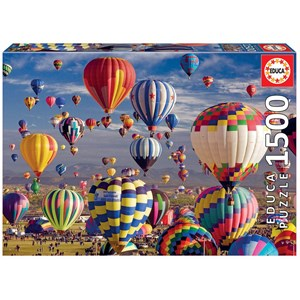 "Educa (17977) - ""Hot Air Balloons"" - 1500 piezas"