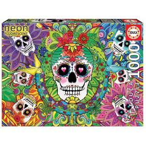 """Educa (17975) - """"Sugar Skulls"""" - 1000 piezas"""