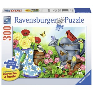 "Ravensburger (13223) - Jane Maday: ""Garden Traditions"" - 300 piezas"