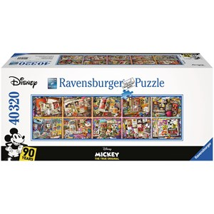 "Ravensburger (17828) - ""Mickey Mouse through the Years"" - 40000 piezas"