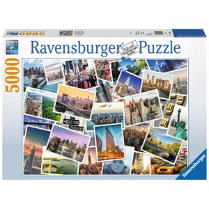 "Ravensburger (17433) - ""New York"" - 5000 piezas"