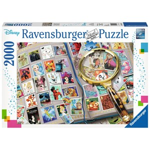 "Ravensburger (16706) - ""Disney Stamp Album"" - 2000 piezas"