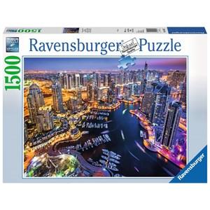"Ravensburger (16355) - ""Dubai Marina"" - 1500 piezas"