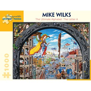 """Pomegranate (AA922) - Mike Wilks: """"The Ultimate Alphabet, The Letter A"""" - 1000 piezas"""