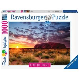 "Ravensburger (15155) - ""Ayers Rock, Australia"" - 1000 piezas"