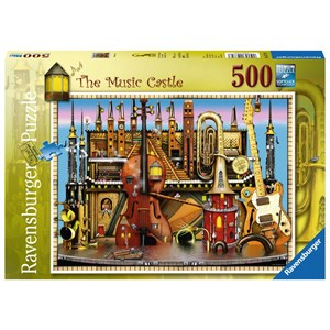 "Ravensburger (14779) - Colin Thompson: ""The Music Castle"" - 500 piezas"