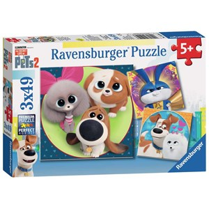 "Ravensburger (05014) - ""The Secret Life of Pets 2"" - 49 piezas"
