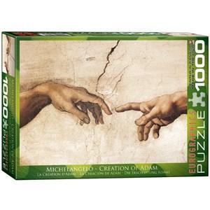 "Eurographics (6000-2016) - Michelangelo: ""The Creation of Adam"" - 1000 piezas"