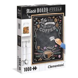 """Clementoni (39466) - """"Black Board Coffee"""" - 1000 piezas"""