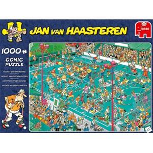 """Jumbo (19094) - Jan van Haasteren: """"Hockey Championships"""" - 1000 piezas"""