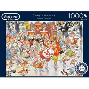 "Falcon (11223) - Graham Thompson: ""Christmas on Ice"" - 1000 piezas"