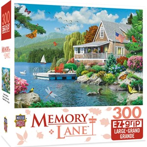 "MasterPieces (31806) - Alan Giana: ""Lakeside Memories"" - 300 piezas"