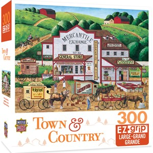 "MasterPieces (31808) - Art Poulin: ""Town & Country Morning Deliveries"" - 300 piezas"