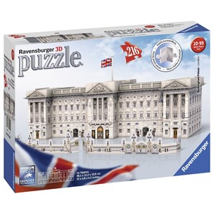 "Ravensburger (12524) - ""Buckingham Palace"" - 216 piezas"